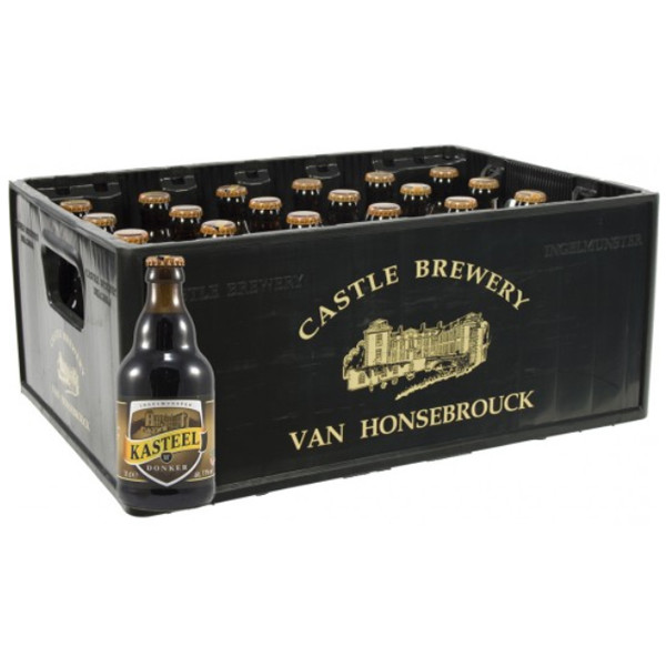 Buy-Achat-Purchase - Kasteel Donker 11° CRATE 24x33cl - Crates (15% discount) -