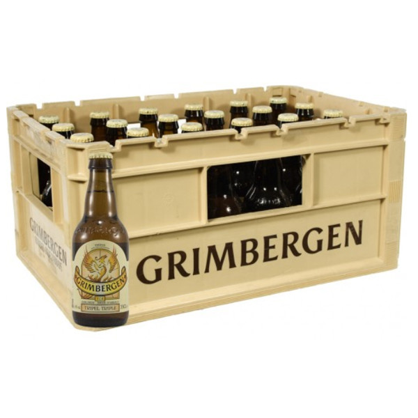 Grimbergen Triple 9° CRATE 24x33cl - Abbey beers -