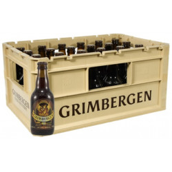 Grimbergen Optimo 10° CRATE 24x33cl - Abbey beers -