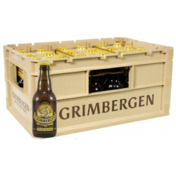 Buy-Achat-Purchase - Grimbergen Blond 6.7° CRATE 24x33cl - Abbey beers -
