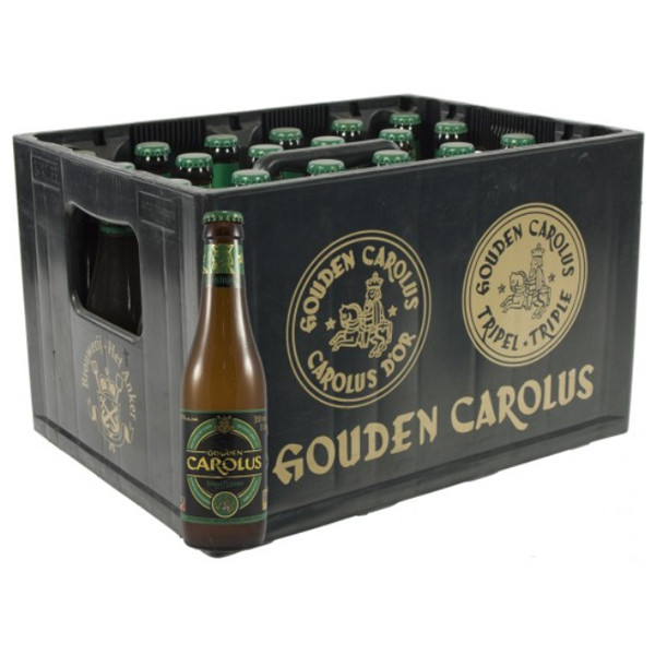 Buy-Achat-Purchase - Gouden Carolus Hopsinjoor 8° CRATE 24x33cl - Crates (15% discount) -