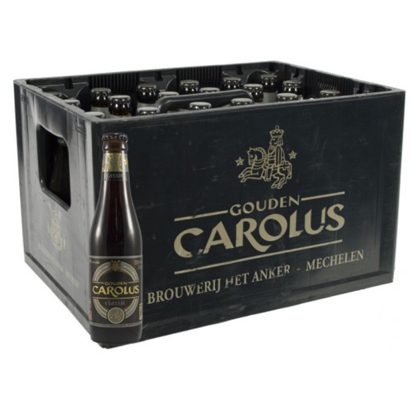 Buy-Achat-Purchase - Gouden Carolus Classic 7.5° CRATE 24x33cl - Crates (15% discount) -