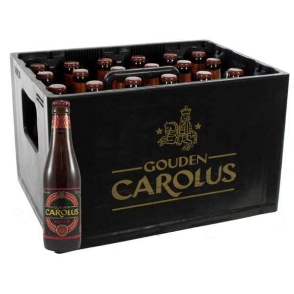 Buy-Achat-Purchase - Gouden Carolus Ambrio 6.5° CRATE 24x33cl - Crates (15% discount) -