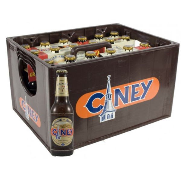 Buy-Achat-Purchase - Ciney Blond 7° CRATE 24x25cl - Crates (15% discount) -