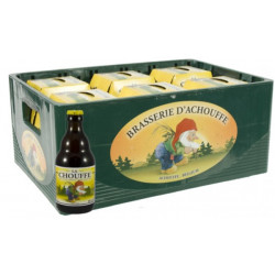 Buy-Achat-Purchase - La Chouffe 8° CRATE 24x33cl - Crates (15% discount) -