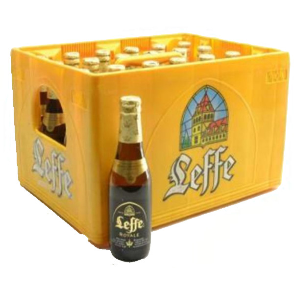 Leffe Royale 7,5° CRATE 24x33cl - Crates (15% discount) - Leffe