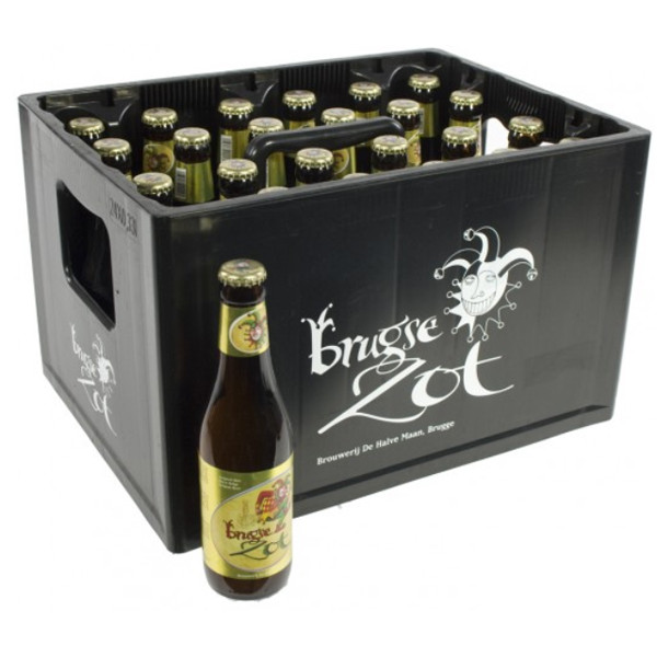 Buy-Achat-Purchase - Brugse Zot Blond 6° CRATE 24x33cl - Crates (15% discount) -