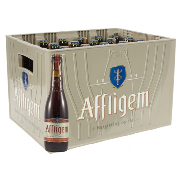 Buy-Achat-Purchase - Affligem Dubbel 7° CRATE 24x30cl - Crates (15% discount) -
