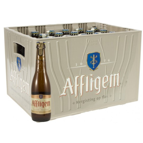 Buy-Achat-Purchase - Affligem Blond 6.8° CRATE 24x30cl - Crates (15% discount) -