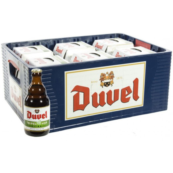 Buy-Achat-Purchase - Duvel Tripel Hop 9,5° CRATE 24x33cl - Crates (15% discount) -