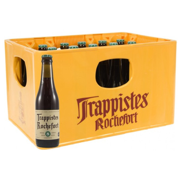 Buy-Achat-Purchase - Rochefort Trappistes 8 -9,2° CRATE 24x33cl - Crates (15% discount) -