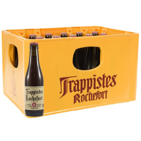 Rochefort Trappistes 6 - 7.5° CRATE 24x33cl - Crates (15% discount) -