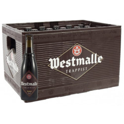 Buy-Achat-Purchase - Westmalle Dubbel 7° CRATE 24x33cl - Crates (15% discount) -