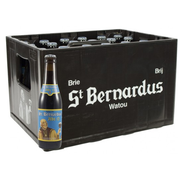 Buy-Achat-Purchase - St.Bernardus Abt 12 CRATE 24x33cl - Crates (15% discount) -