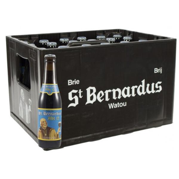 St.Bernardus Abt 12 CRATE 24x33cl - Crates (15% discount) -