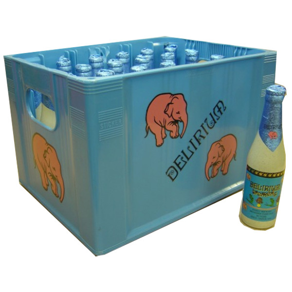 Buy-Achat-Purchase - Delirium Tremens 9° CRATE 24x33cl - Special beers -