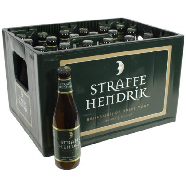 Buy-Achat-Purchase - Brugs Straffe Hendrik Tripel 9° CRATE 24x33cl - Crates (15% discount) -