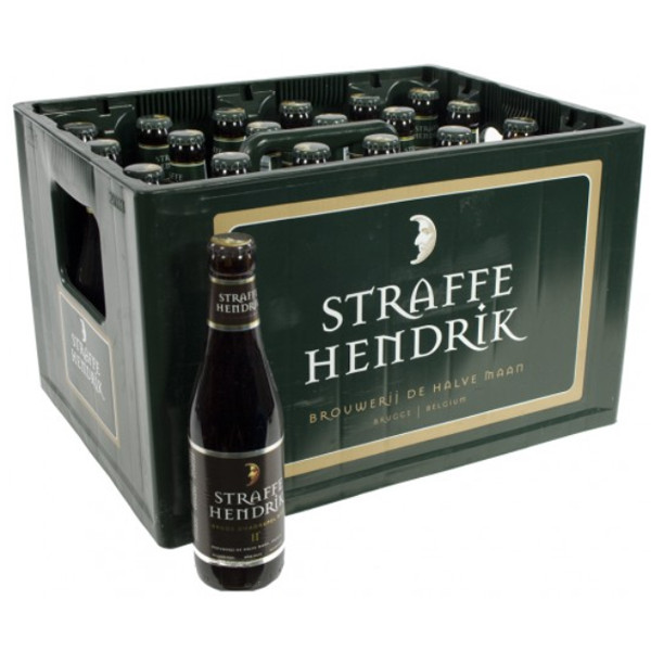 Buy-Achat-Purchase - Brugs Straffe Hendrik Quadrupel 11° CRATE 24x33cl - Crates (15% discount) -