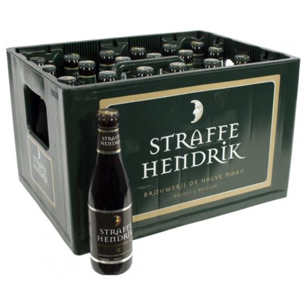 Buy-Achat-Purchase - Brugs Straffe Hendrik Quadrupel 11° CRATE 24x33cl - Crates (15% discount) -