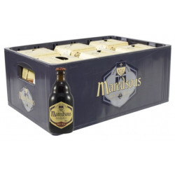 Buy-Achat-Purchase - Maredsous Brown 8° CRATE 24x33cl - Crates (15% discount) -