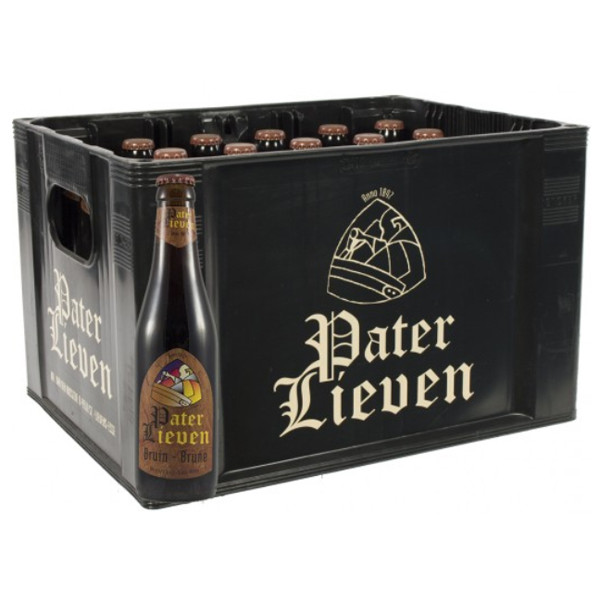 Buy-Achat-Purchase - Pater Lieven Bruin 6,5° CRATE 24x33cl - Crates (15% discount) -