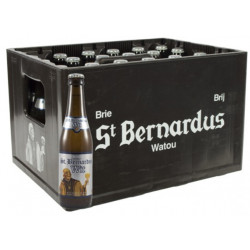 Buy-Achat-Purchase - St Bernardus White 5.5° CRATE 24x33cl - Crates (15% discount) -