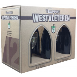 Buy-Achat-Purchase - Westvleteren Pack 6X33 & 2 Glasses - Trappist beers -