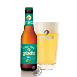 Buy-Achat-Purchase - Grisette Triple BIO 8° - 1/4L - Special beers -