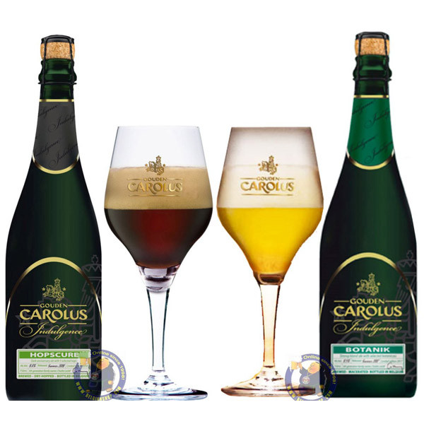 Buy-Achat-Purchase - Gouden Carolus Indulgence DUO Pack 2x3/4L - Beers Gifts -