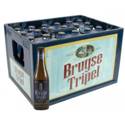 Buy-Achat-Purchase - Brugse Tripel 9° CRATE 24x33cl - Crates (15% discount) -