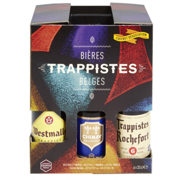 "Buy-Achat-Purchase - Pack ""Bieres Trappistes Belges"" 6x33cl - Trappist beers -"