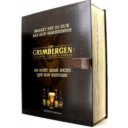 Buy-Achat-Purchase - Grimbergen Book Gift 4x33cl + 1g - Beers Gifts -