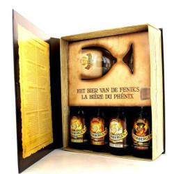 Grimbergen Book Gift 4x33cl + 1g - Beers Gifts -