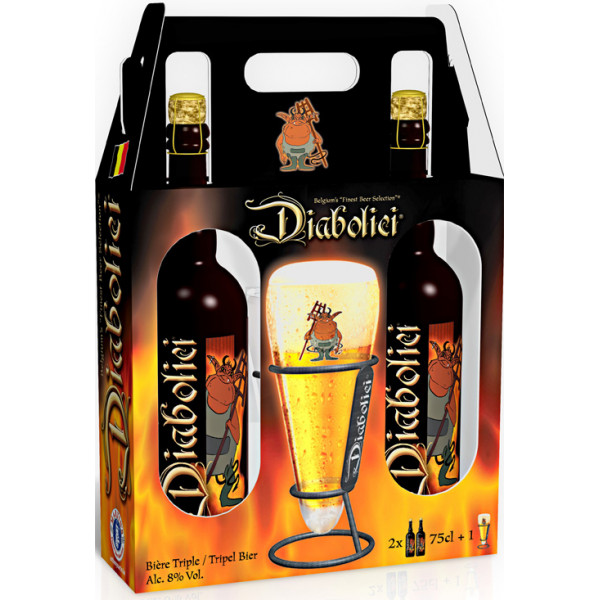 Buy-Achat-Purchase - Diabolici Pack 2X75cl - 1V - Beers Gifts -