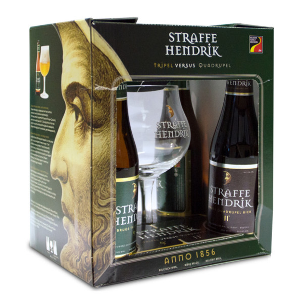 Buy-Achat-Purchase - Straffe Hendrik Pack 4x33cl - 1V - Beers Gifts -