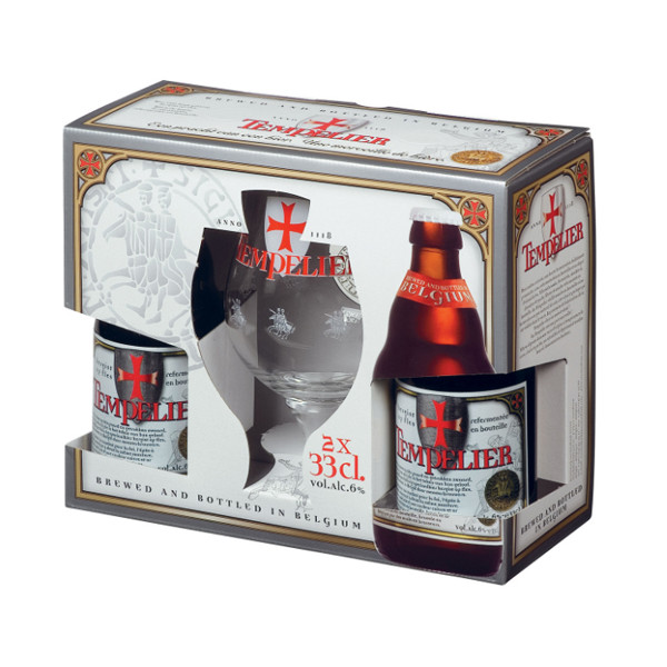Buy-Achat-Purchase - Tempelier Pack 2x33cl - 1V - Beers Gifts -