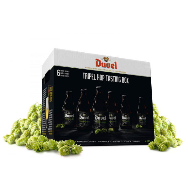 Buy-Achat-Purchase - DUVEL TRIPEL HOP 6 BLENDS-TASTING PACK - Beers Gifts -
