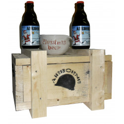 Buy-Achat-Purchase - Airborne CHRISTMAS Wooden Pack 2x33 + 1mug - Beers Gifts -