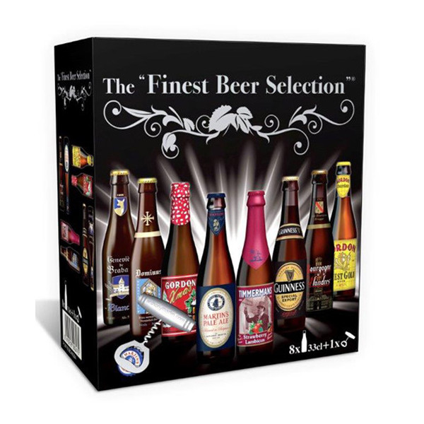Buy-Achat-Purchase - Finest Beer Selection Giftpack - Beers Gifts -