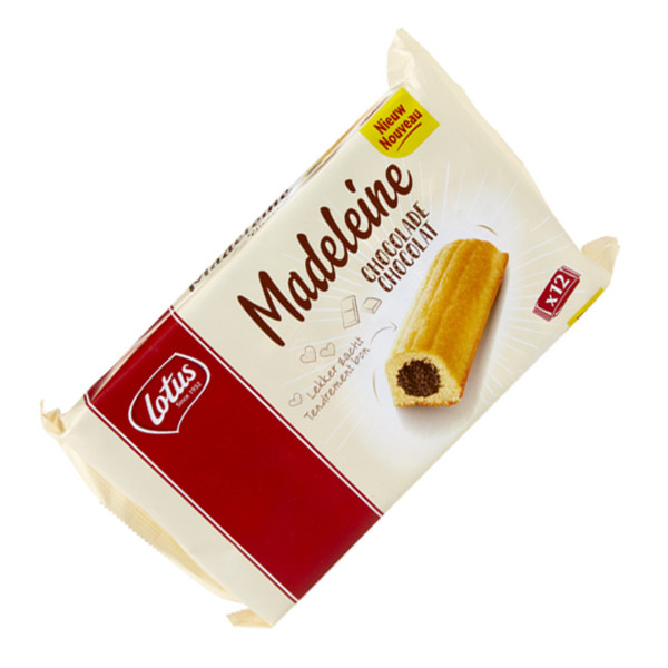 Buy-Achat-Purchase - LOTUS Madeleines Chocolate 300g - 12pcs - Biscuits - Lotus