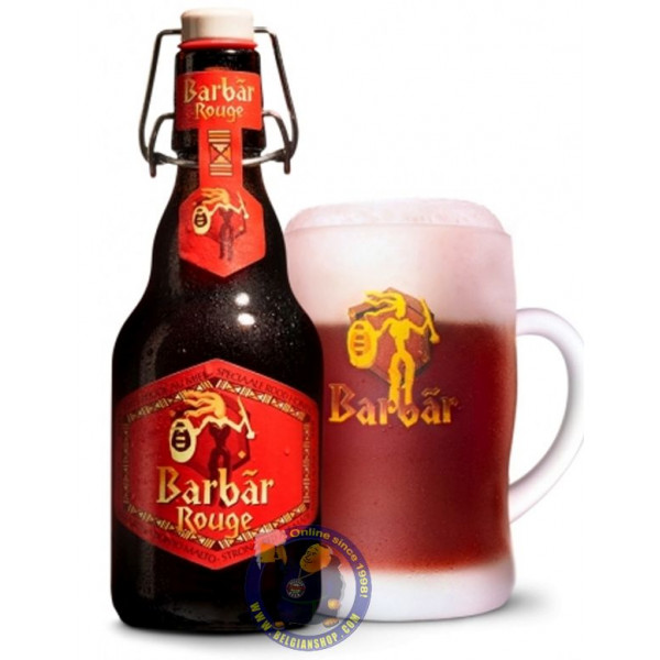 Barbar Rouge 8° - 1/3L - Geuze Lambic Fruits -
