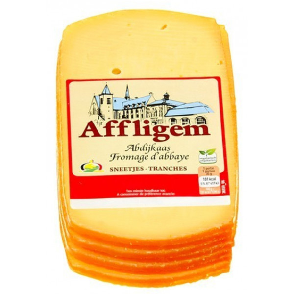 Affligem Abbey Cheese Slices ± 400 gr - Cheeses -