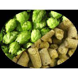 Buy-Achat-Purchase - Hop Cascade (US) in Pellets T90 in 5 kg(11LB) bag - Brewing Hops -