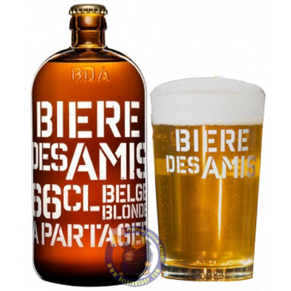 Buy-Achat-Purchase - BDA - Bière Des Amis ( Beer Of Friends) 5.8° - 1/3L - Special beers -