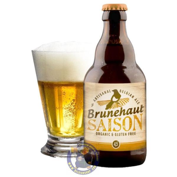 Brunehaut Bio Saison 4,5° - 1/3L - Special beers -