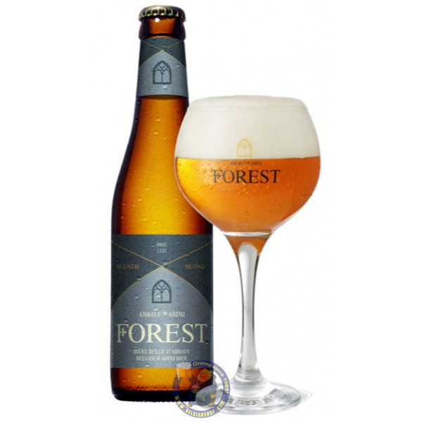 Abbaye de Forest 6.5° -1/3L - Abbey beers -