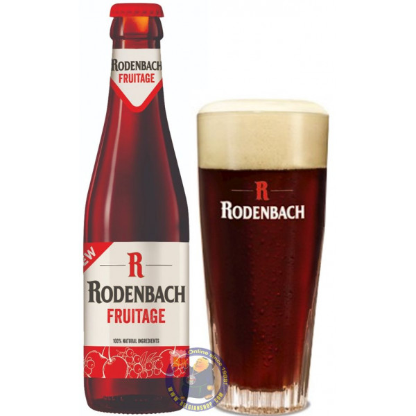 Buy-Achat-Purchase - Rodenbach Fruitage 4.2° - 1/4L - Geuze Lambic Fruits -
