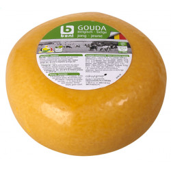 Buy-Achat-Purchase - BONI Gouda Jeune, Roll +/- 1,8 kg - Belgian Cheeses -