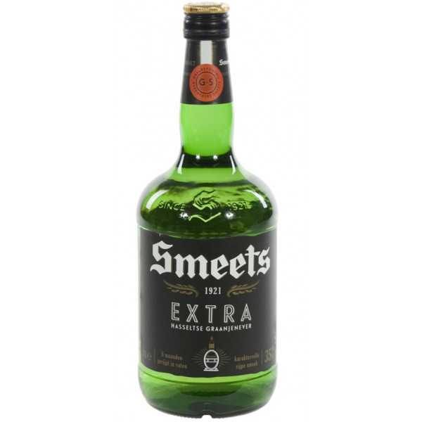 Buy-Achat-Purchase - Smeets Extra Hasselt Grain Jenever 1L 35% - Spirits -