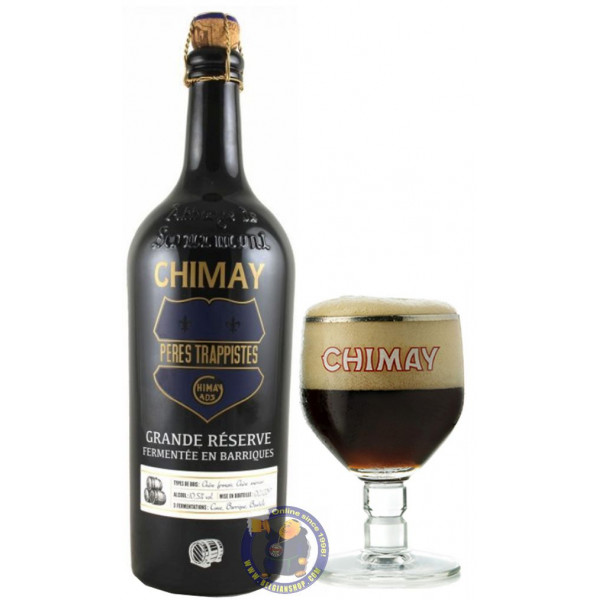 """Chimay \\""""Grande Réserve\\"""" French-American OAK 2019 - 3/4L - Trappist beers -"""
